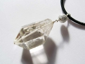 CROWN CHAKRA Clear Quartz Double-terminated