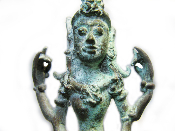 Antique Tara Goddess Statue Inodnesia