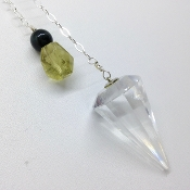 Pendulum 8- Clear Quartz
