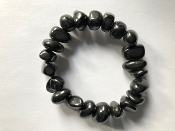 SHUNGITE  Bracelet Medium
